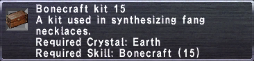 Bonecraft Kit 15