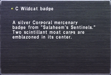 C wildcat badge