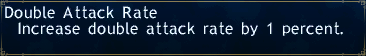Double attack rate