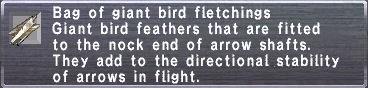 GiantBirdFletching