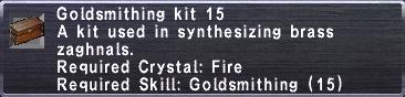 Goldsmithing Kit 15