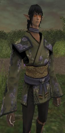 Hikogami yukata elvaan