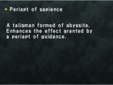 Periapt of Sapience