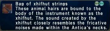 Xhifhut strings