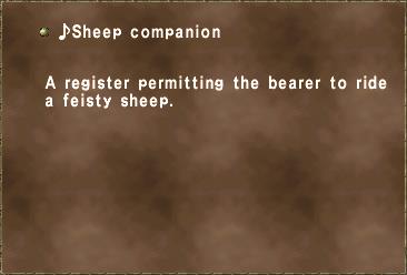 ♪Sheep companion