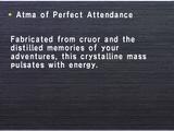 Atma of Perfect Attendance