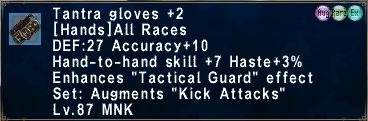 Tantra Gloves +2