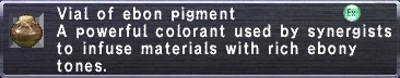 Ebon Pigment