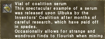 Vial of coalition serum