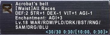 Acrobat's Belt