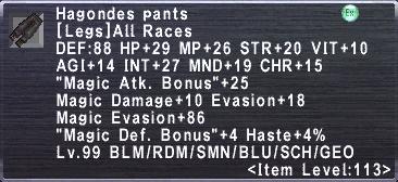 Hagondes Pants