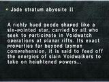 Jade Stratum Abyssite II