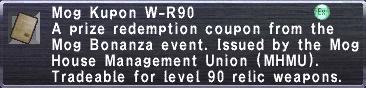Kupon W-R90