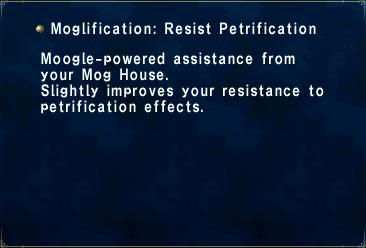 Moglification Resist Petrification