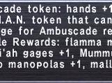Ambuscade Token: Hands +1