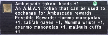 Ambuscade Token Hands +1