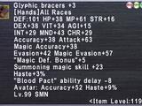 Glyphic Bracers +3