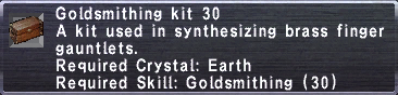 Goldsmithing Kit 30