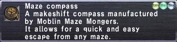 Maze Compass
