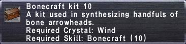 Bonecraft Kit 10