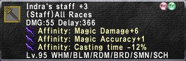 Indra staff 3 MAB