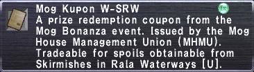 Kupon W-SRW