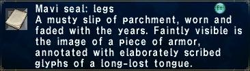 Mavi Seal Legs