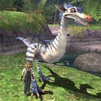 Rearing-raptor