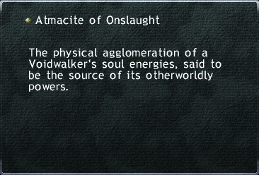 Atmacite of Onslaught