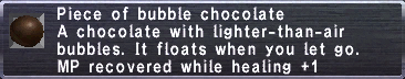 Bubble Chocolate