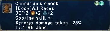 Culinarian's Smock