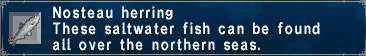 Nosteau herring