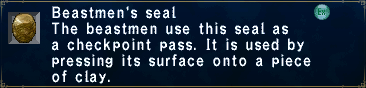 Beastmen's seal