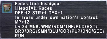 Federation Headgear