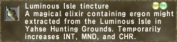Luminous Isle tincture