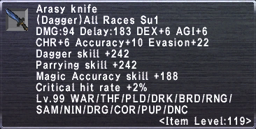 Arasy Knife