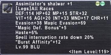 Assimilator's Shalwar +1