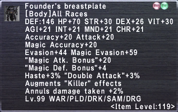 Founder's Breastplate