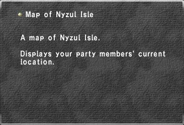 Map of Nyzul Isle