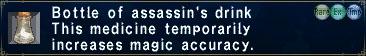 Assassin's drink