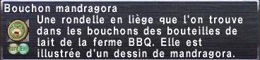 Bouchon mandragora