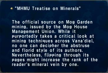MHMU Treatise on Minerals