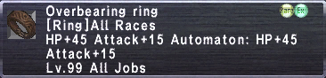 Overbearing Ring