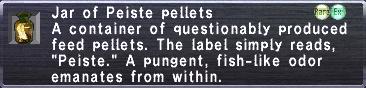 Peiste Pellets