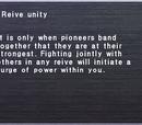 Reive unity