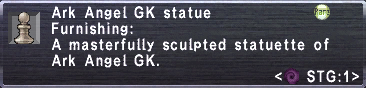 Ark Angel GK Statue