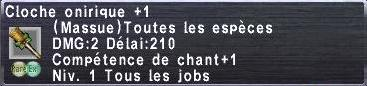 Cloche onirique +1