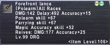 Forefront Lance