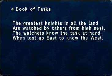 Book of Tasks