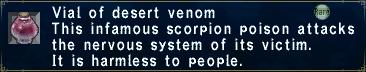 Desert Venom